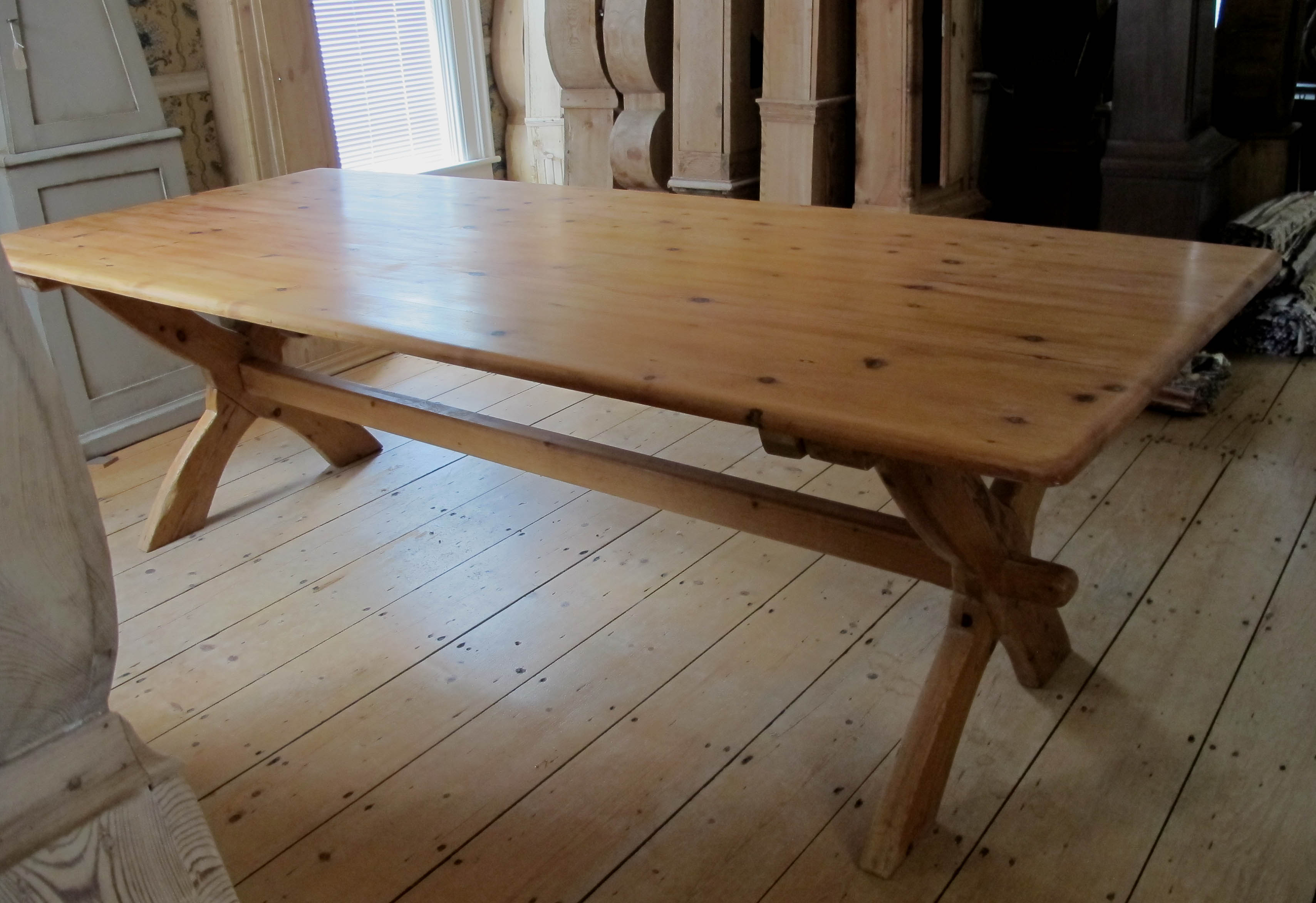Antique Swedish Plank Table Antique Swedish Plank Table ...