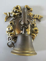 solid brass bell for needlepoint bell pull