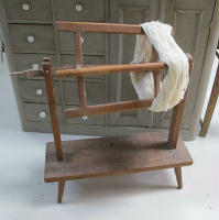Swedish yarn winder