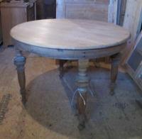 Round Antique Danish Table