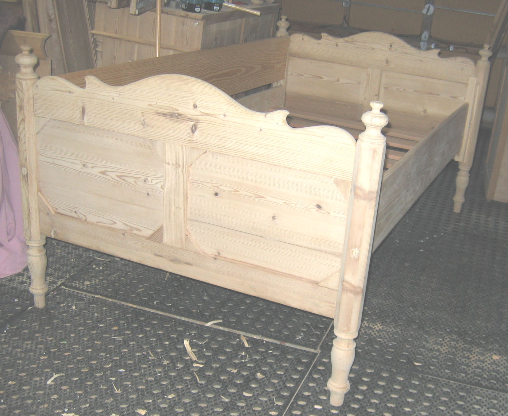 antique Danish Beds Conversions