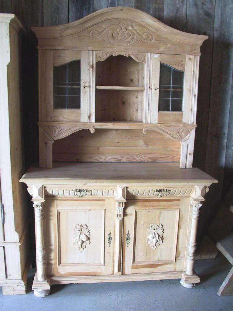 antique Danish cupboard ... - Antique Swedish And Danish Stepback Cupboards
