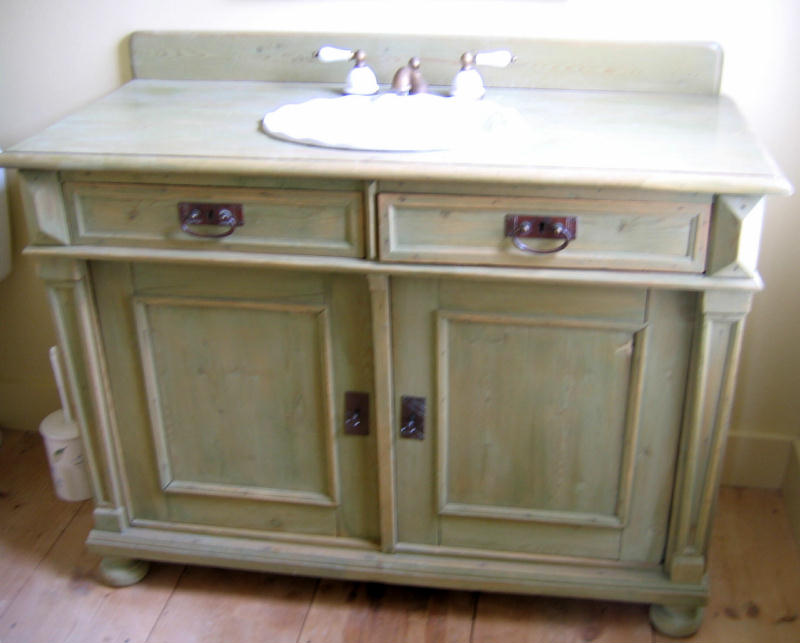 The Country Gallery Bathroom Vanity Conversions