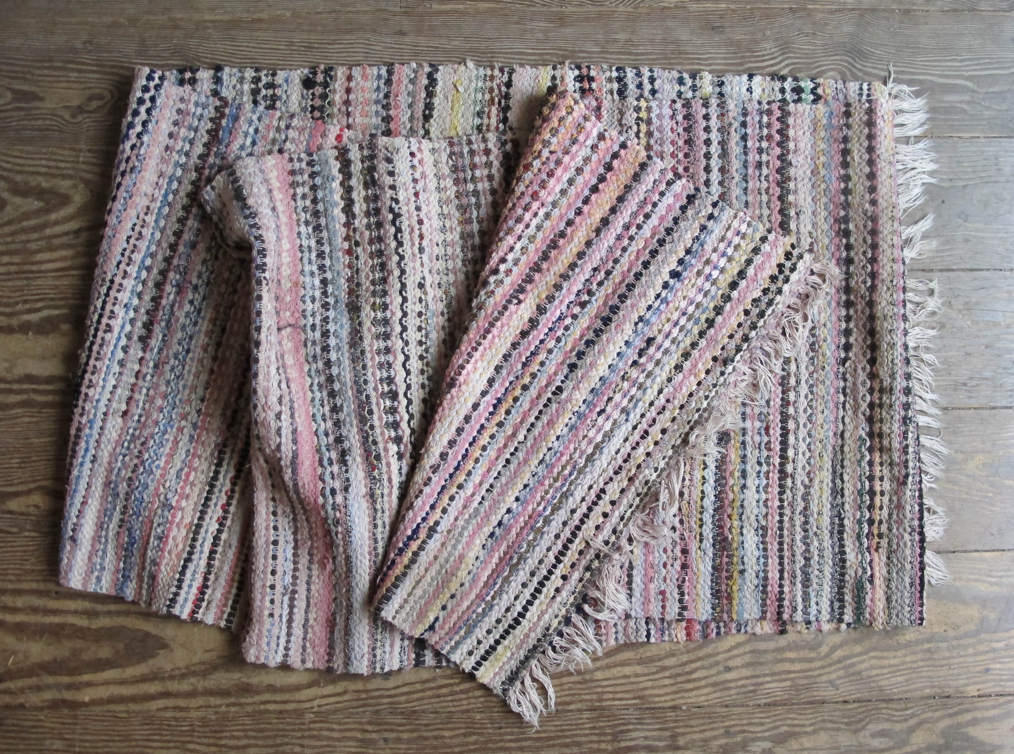 Vintage Swedish Rag Rugs Ragrugs
