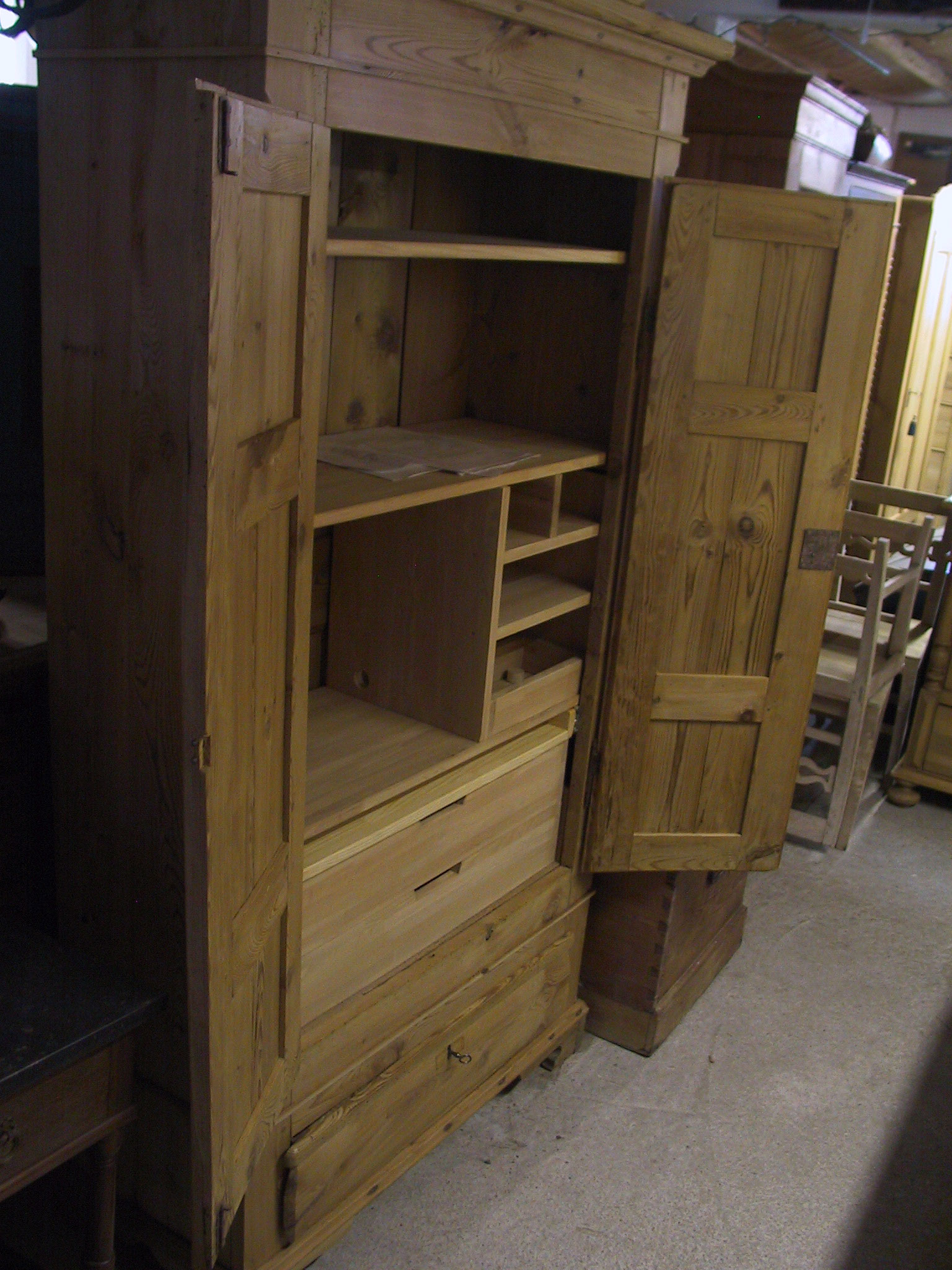 Antique Danish Amp Swedish Armoire Conversions And Outfitting